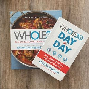 Whole 30 cookbook and workbook